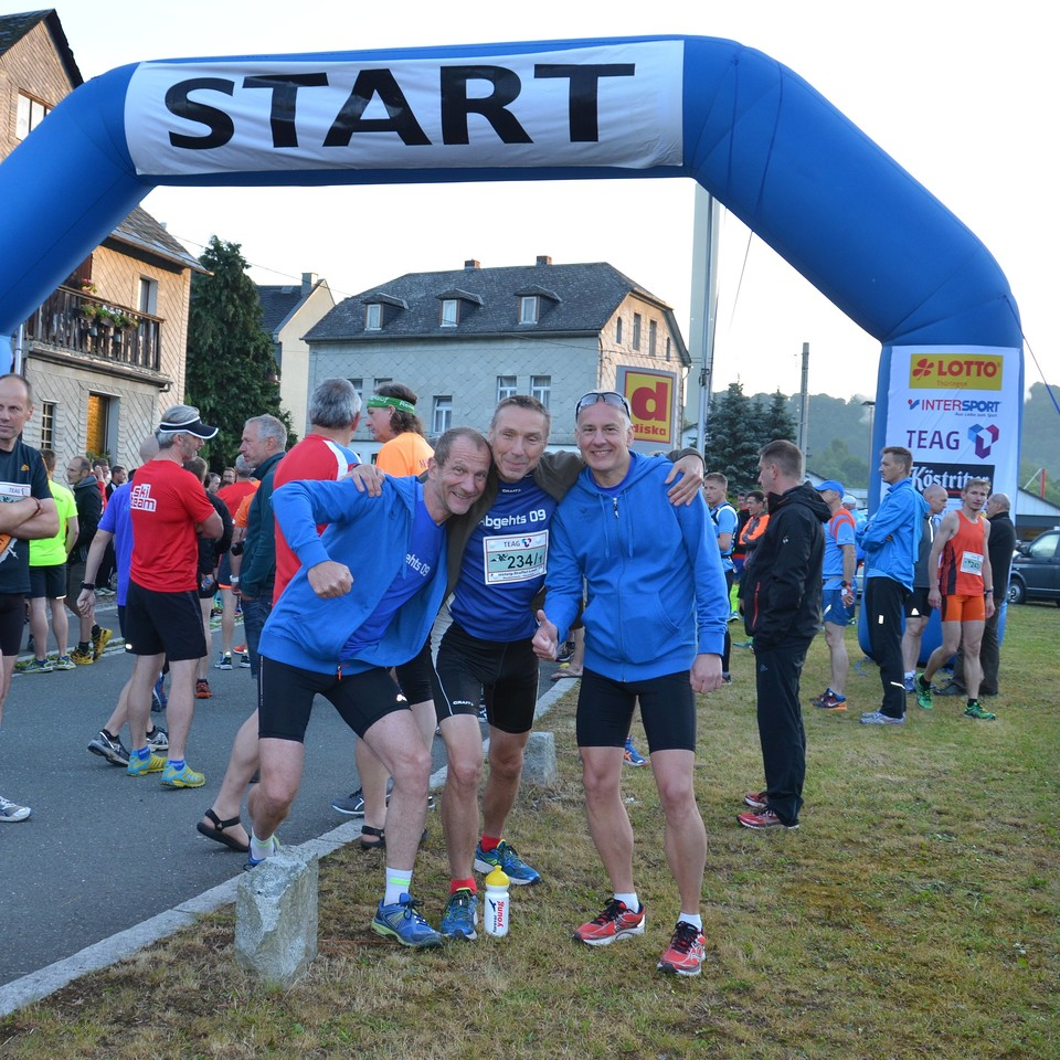 Rennsteig-Staffellauf 2017 - Start in Blankenstein
