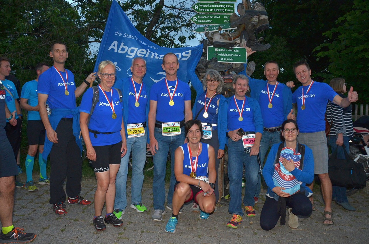 Rennsteig-Staffellauf - Finisher